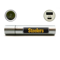 Pittsburgh Steelers Portable Device Charger-Flashlight-Hand Warmer NFL