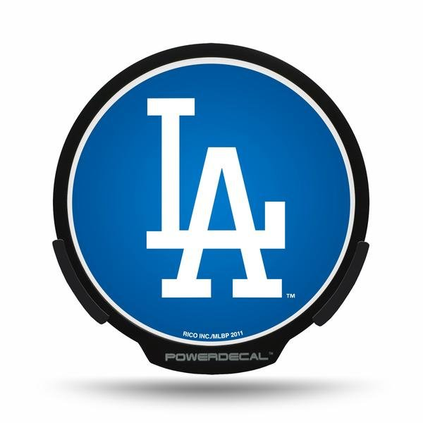 Los Angeles Dodgers LED Window Decal Light Up Logo Powerdecal