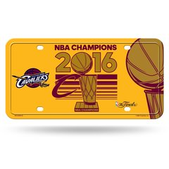"Cleveland Cavaliers ""2016 Finals Champions"" Metal License Plate/Tag NBA"