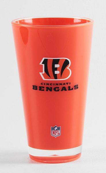 Cincinnati Bengals Acrylic Tumbler Cup 20oz. Round Insulated/Shatterproof NFL Licensed FREE SHIPPING