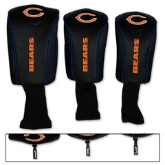 Chicago Bears Golf Club Covers 3 pack NFL Licensed