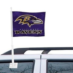 Baltimore Ravens Car - Truck - SUV Window Flag