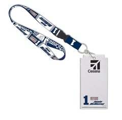 Jamie McMurray #1 Lanyard w/ Credential Holder NASCAR
