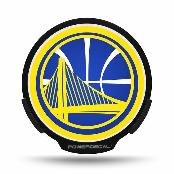 Golden State Warriors LED Window Decal Light Up Logo Powerdecal NBA