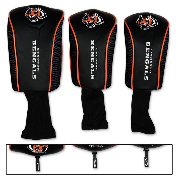 Cincinnati Bengals Golf Club Covers 3 pack NFL Licensed