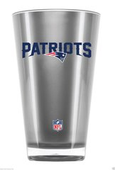 New England Patriots Round Tumbler Cup 20oz Insulated/Shatterproof NFL