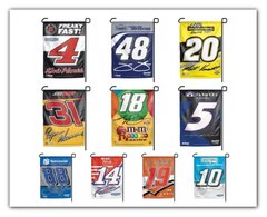 NASCAR Garden Window Flag Yard Banner