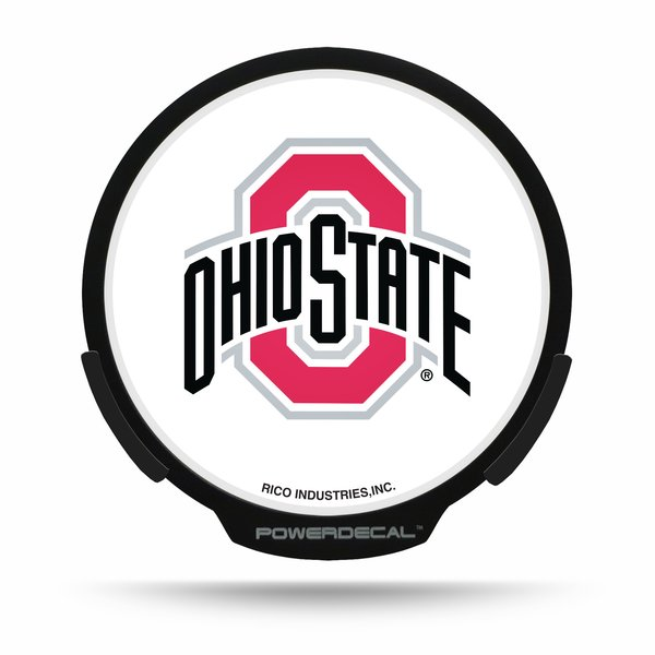 Ohio State Buckeyes LED Window Decal Light Up Logo Powerdecal NCAA