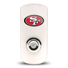 San Francisco 49ers Night Light LED Flash Lightw/ Built In Sensor NFL