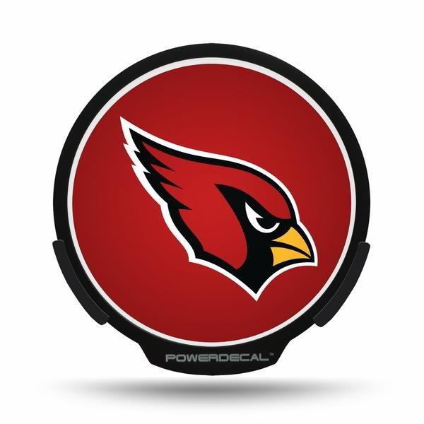 Arizona Cardinals LED Window Decal Light Up Logo Powerdecal NFL