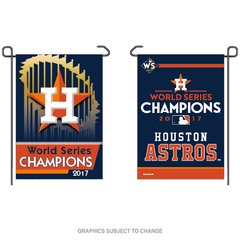 Houston Astros Garden Flag 2017 World Series Champions 2 Sided