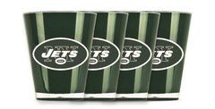 New York Jets Shot Glasses 4 Pack Shatterproof NFL