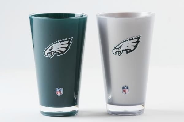 Philadelphia Eagles Insulated Tumbler Cups 2 Pack On Field Colors NFL