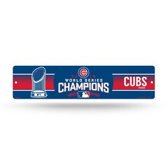 Chicago Cubs 2016 World Series Champions Street Sign MLB Licensed