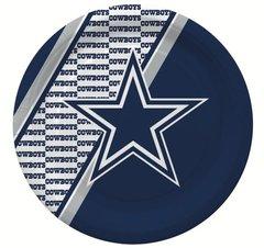 "Dallas Cowboys 10"" Disposable Paper Plates 20 Count Partyware"