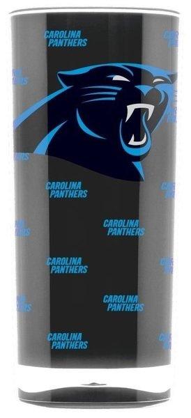 Carolina Panthers Tumbler Cup Insulated 20oz NFL