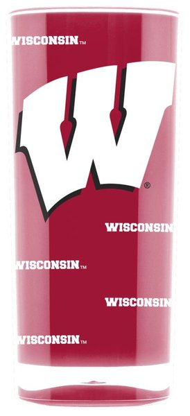 Wisconsin Badgers Insulated Tumbler Cup 20oz NCAA Licensed