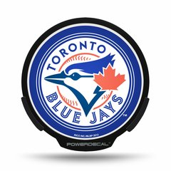 Toronto Blue Jays LED Window Decal Light Up Logo Powerdecal