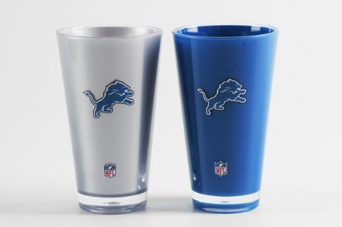 Detroit Lions Insulated Tumbler Home/Away Twin Pack NFL