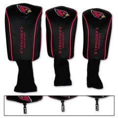 Arizona Cardinals Golf Club Covers 3 pack NFL Licensed