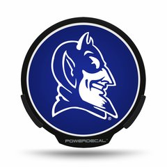 Duke Blue Devils LED Window Decal Light Up Logo Powerdecal NCAA