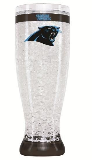 Caroilna Panthers Crystal Freezer Pilsner NFL