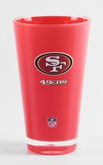 San Francisco 49ersTumbler Cup 20oz Round Insulated/Shatterproof NFL