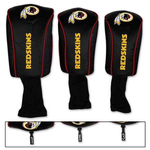 Washington Redskins Golf Club Covers 3 pack NFL Licensed