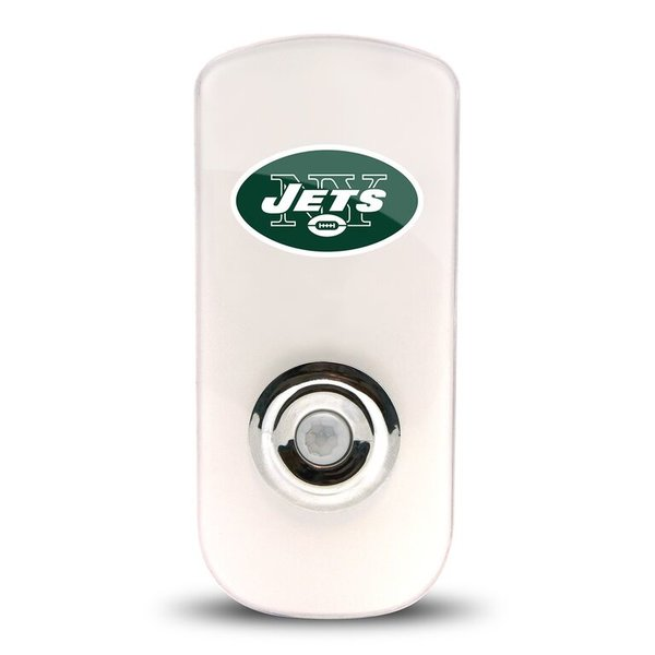 New York Jets Night Light LED Flash Lightw/ Built In Sensor NFL