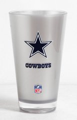 Dallas Cowboys Acrylic Tumbler Cup 20oz. Round Insulated/Shatterproof NFL Licensed FREE SHIPPING