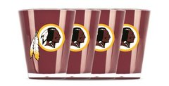 Washington Redskins Shot Glasses 4 Pack Shatterproof NFL