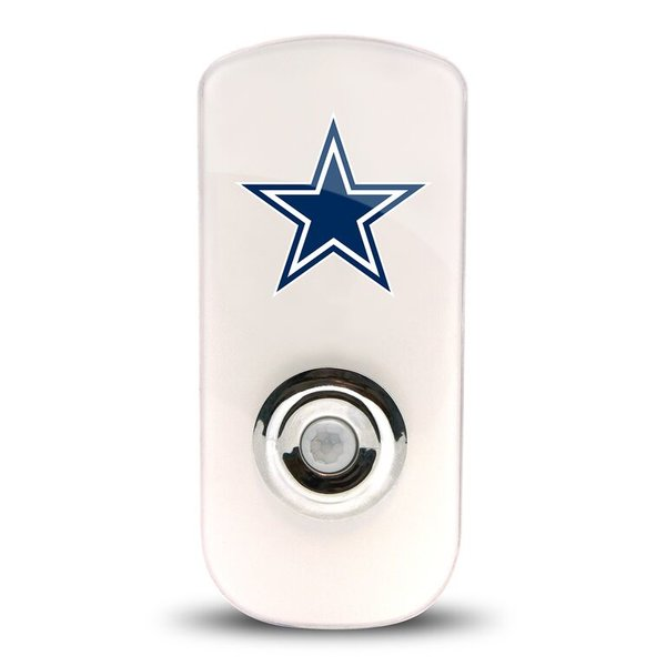 Dallas Cowboys Night Light LED Flash Lightw/ Built In Sensor NFL