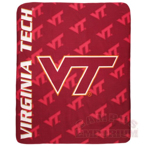Virginia Tech Hokies Fleece Throw Blanket NCAA