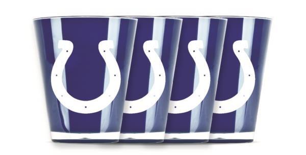 Indianapolis Colts Shot Glasses 4 Pack Shatterproof NFL