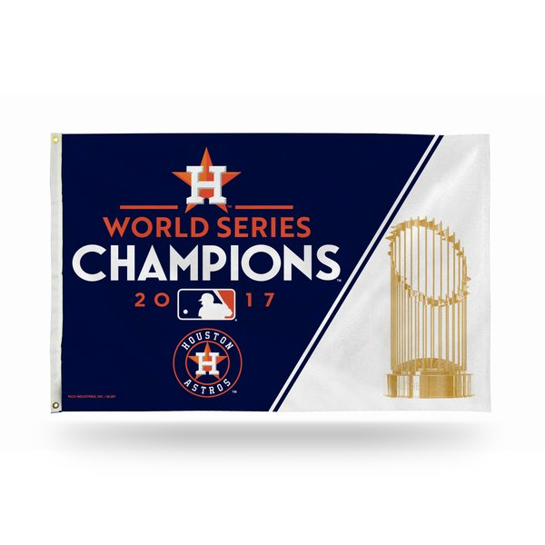 Houston Astros 2017 World Series Champions Wall Banner Flag MLB Licensed