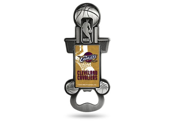 Cleveland Cavaliers Bottle Opener Magnetic Party Starter NBA