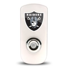 Oakland Raiders Night Light LED Flash Lightw/ Built In Sensor NFL