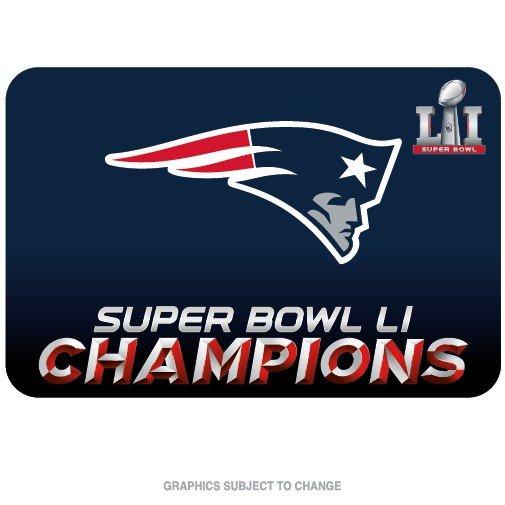 New England Patriots Super Bowl LI Champions Welcome Door Mat