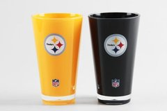 Pittsburgh Steelers Insulated Tumbler Cup 2 Pack On Field Colors NFL Licensed