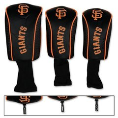 San Francisco Giants Golf Club Covers Headcovers 3 pack MLB Licensed