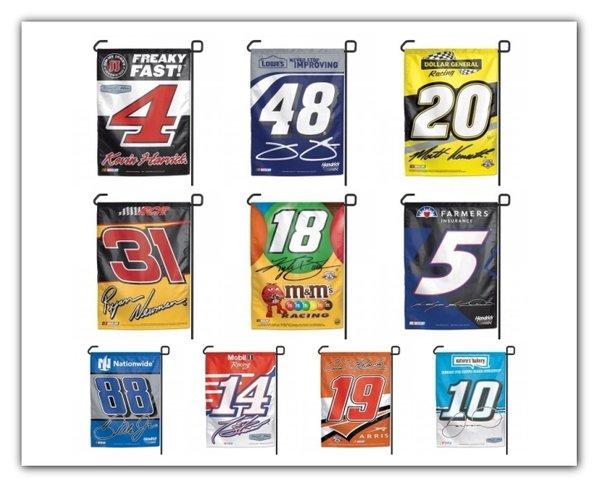 NASCAR Garden Window Flag Yard Banner