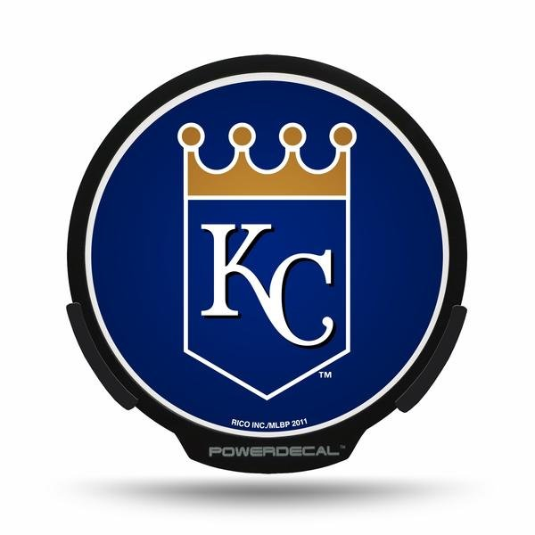 Kansas City Royals LED Window Decal Light Up Logo Powerdecal