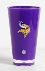Minnesota Vikings Round Tumbler Cup 20oz Insulated/Shatterproof NFL