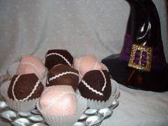 3 Organic Catnip Chocolate Truffles
