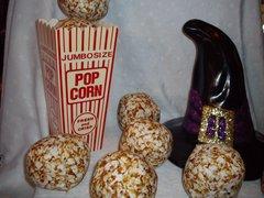 Organic Catnip Popcorn Balls