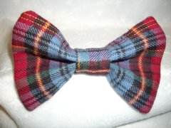 Cat Bow Ties Flannel Designs
