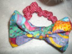 Cat Bowtie with Attached Collar Easter Designs