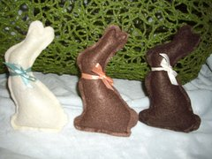 Organic Catnip Chocolate Bunnies