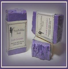 """""""Lush Lavender"""" 100% Olive Oil Handmade Castile VEGAN Soap Bar"""