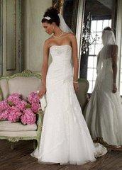 David's Bridal Wedding Dress 7YP3344